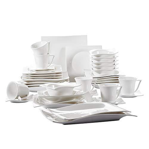 Vancasso Lolita 38-teilig Porzellan Tafelservice Set für 6 Personen