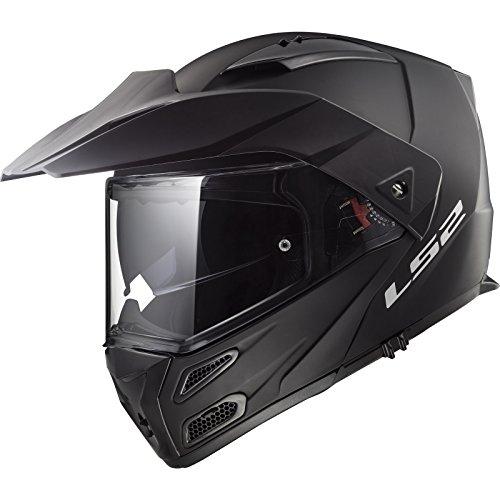 LS2 FF324 Metro Evo Solid - Casco de moto, negro mate, Large