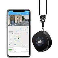 Mini Localizador GPS con Aplicación Gratuita para Android iOS/Rastreo GPS en Tiempo Real/Geo-Cerca/Alarmas SOS/Conversación bidireccional, Portátil GPS Tracker para Niños Adultos Mayores