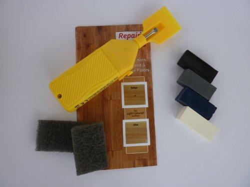 1 X White Blue Black & Grey Ceramic & Vinyl Tile Repair Kit