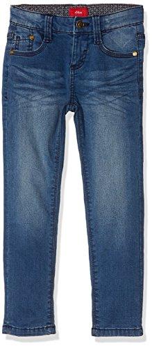 s.Oliver Jungen Jeans 63.710.71.2956 Blau (Blue Denim Stretch 56Z7), 128 (Herstellergröße: 128/REG)