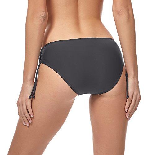 Merry Style Damen Bikini Slip MSVR2 Graphite