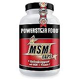 MSM CAPS - HOCHDOSIERT - MSM Gelenk-Produkt mit der höchsten Dosierung an reinem Methylsulfonylmethan + Vitamin C - 1600mg reines MSM pro Tagesdosis - Vegan - 120 Kapseln - MADE IN GERMANY