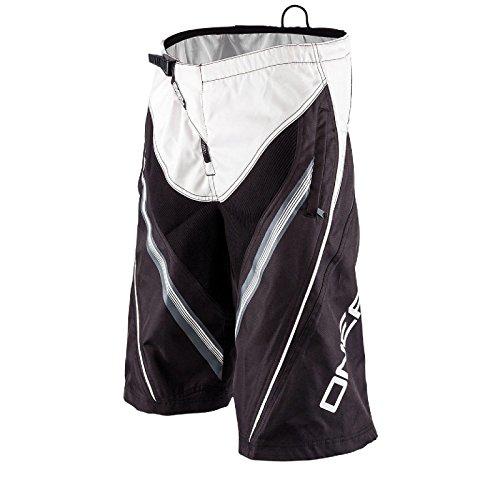 Element FR Youth O'neal MX DH bambini pantaloni corti da MTB nero/bianco 2016 Oneal
