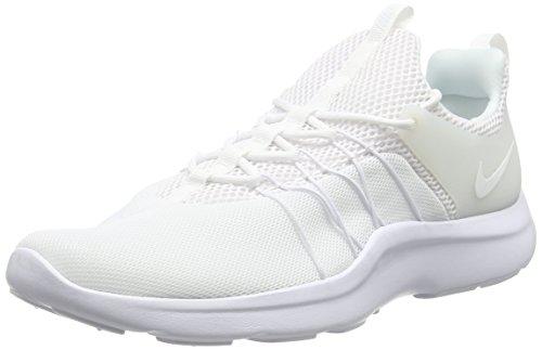 Nike Darwin Scarpe Sportive Outdoor Uomo Rosso 39 EU Bianco 44.5 EU