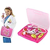 Battery Operated Doctor Set 8 Pcs Kit With Lights & Sound For Kids