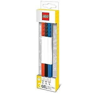 LEGO 0229627 Cancelleria Penna Gel, 3 Pezzi 4895028515133 LEGO