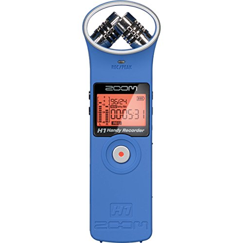 ZOOM H1 Blue Handy Recorder