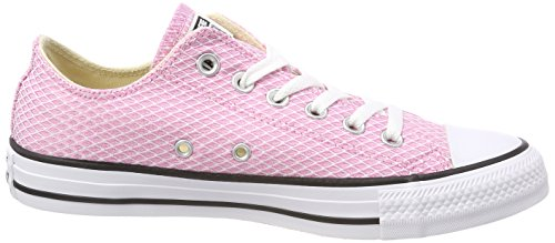 Converse Unisex-Erwachsene CTAS Ox Light Orchid/White/Natural Sneaker Pink (Light Orchid/White/Natural)