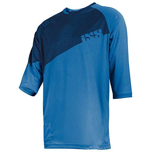 IXS Vibe 6.1 BC Jersey Trikot - fluor Blue Größe L -