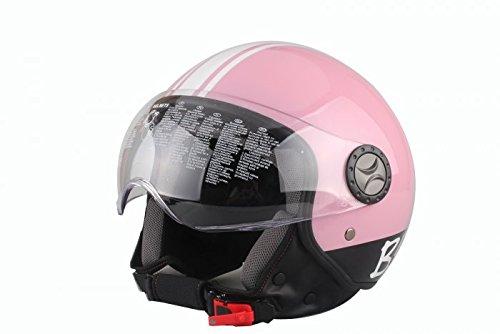 casco-demi-jet-modello-701-rosa-fluo-55-56