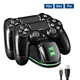 PICTEK Cargador Mando PS4, DualShock 4 Controller Playstation 4...