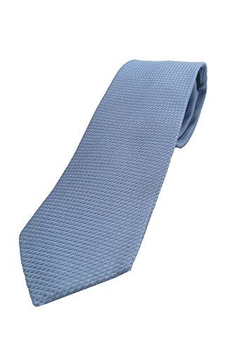 Krawatte edel blau mit kleinem karo Muster, 100{441dd4f8e249de5ee2e16461608a93e2639ec3564caba0805af9dc6a1253d092} Seide, handgefertigt,sehr edel und elegant. Wunderschöne Struktur.Design TJZ31407-G Pietro Baldini