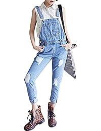 grande sconto del 2019 scarpe autunnali comprare a buon mercato Amazon.it: Pantaloni Con Bretelle - Jeans / Donna: Abbigliamento
