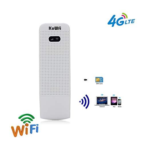 KuWFi - Enrutador WiFi Desbloqueado Ranura Tarjeta