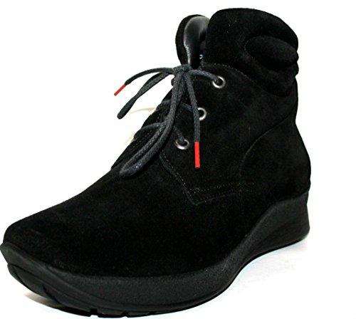 Think chiwi 1–81126–00 chaussures montantes pour femme Noir - Noir