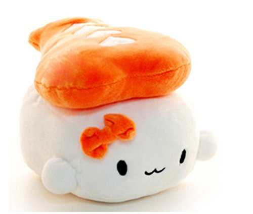 "Japanese Food Sushi small Cushion Gift Plush Toy Decoration Pillow Hit Gift Toy ~Shrimp 6"" by ex"