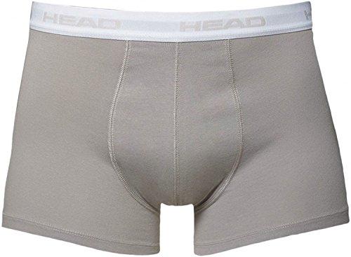 HEAD Herren Boxer Boxershort Unterhose 8er Pack Grey