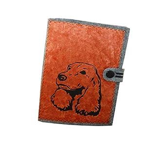 Cocker Spaniel Hundepass Hülle für Impfpass