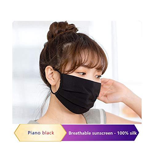 Preisvergleich Produktbild NAN JI REN-Maskemotorradmaske sommerUV-Schutz,  staubdicht und atmungsaktiv,  geeignet für Motorräder,  Fahrräder,  Walking,  Seidenstoffe