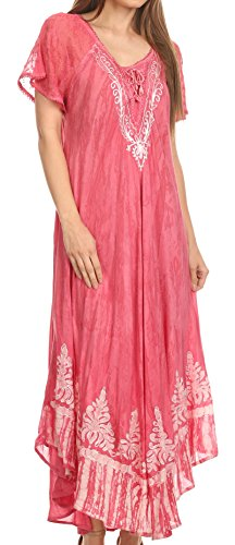sakkas-16601-ronny-lace-embroidered-cap-sleeve-tie-dye-wash-caftan-dress-cover-up-errten-os