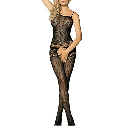 Toocool-Bodystocking-donna-tutina-catsuit-pizzo-sexy-lingerie-intimo-nuovo-DL-1939
