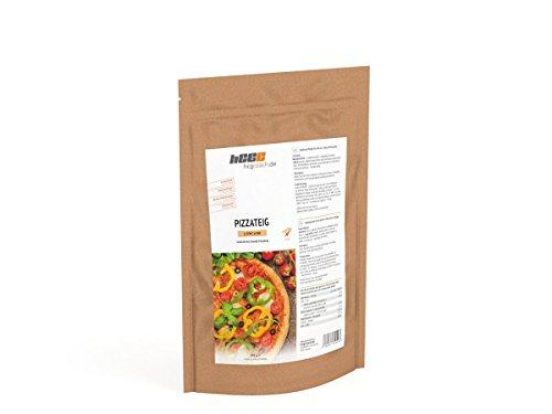 hCG Pizza, Pizzateig (150 g), mit nur 1,6 g KH Pro 100g, Glutenfrei, Sojafrei, Hefefrei, proteinreich, ohne Zusatzstoffe