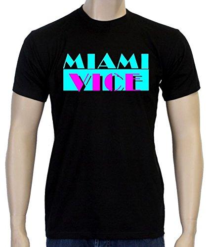 MIAMI VICE - SONNY CROCKET - T-SHIRT - schwarz, (Kostüme Mafia/pate)