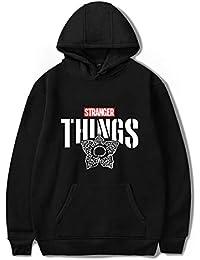 SERAPHY 2018 Unisexe Sweat-Shirts à Capuche Trendy Faces Nouvelle Saison Stranger Things Hooded Hommes Femmes Sweatshirts à Manches