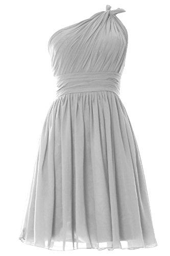 MACloth - Robe - Trapèze - Sans Manche - Femme Blanc - Blanc