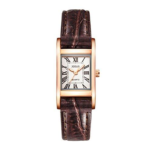 Orologio femminile retrò Piazza/Guarda gli amanti della moda studente/Lista dei orologio al quarzo da polso neutro-E