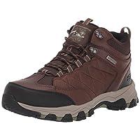 Skechers Men's SELMEN-TELAGO LACE UP Boot Hiking, Light Brown, 10 Medium US