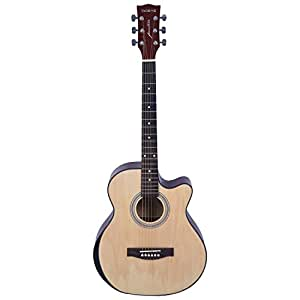 Kadence Frontier Series Q10 (Hand Rest) Acoustic Guitar with Truss Rod, Natural