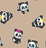 Juego de 5hojas de papel de regalo Panda Osos Para Cumpleaños, Bodas, Navidad, Cumpleaños Infantil Formato: 50x 70cm