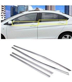 Auto Concept Lower Chrome SS Window Garnish for Honda City 2014 IDTEC, IVTEC