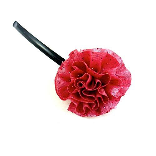 rougecaramel - Accessoires cheveux - Mini pince fleur - vieux rose