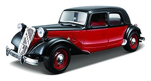 BBurago 18-25080 - Kit Collezione 1:24 Citroen 15 CV TA (1938)