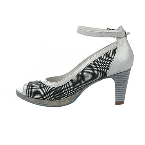 Nu pieds femme - UN TOUR EN VILLE - Gris - MABLOX - Millim Gris