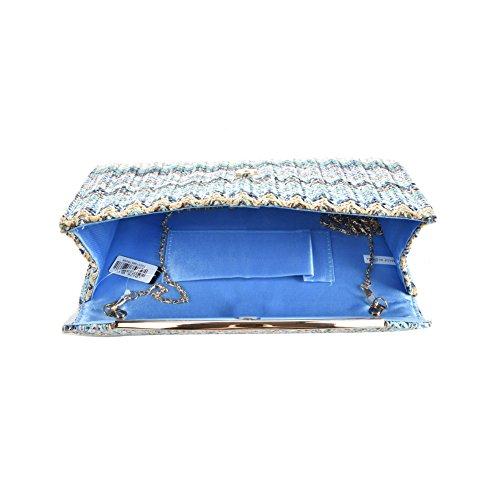 Premium Leather, Poschette giorno donna M Blue