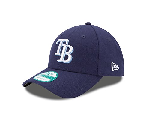 New Era 9Forty Tampa Bay Rays Kappe Herren, Blau, OSFA (Tampa Bay Rays Baseball)