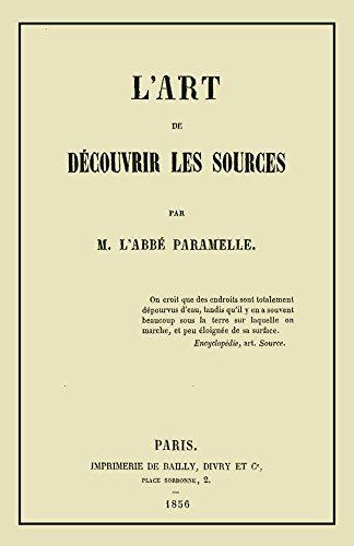 L'Art de Decouvrir les Sources: La Géognosie par