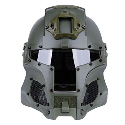 YAHAMA WST Militär Helm Sturzhelm Taktische Helm Softair Paintball Helm Maske für Airsoft Paintball