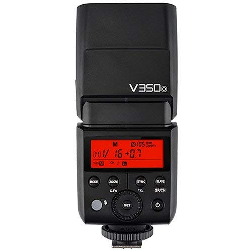 Godox V350 Series TTL 2.4G Li-ION Camera Flash with Built-in Rechargeable Battery for Canon/Nikon/Sony/Olympus/Fujifilm, V350-N for Nikon
