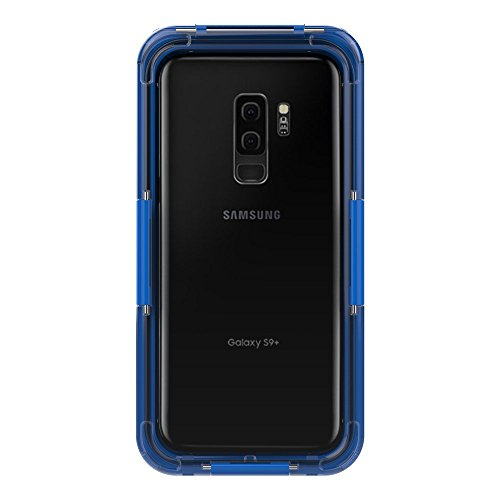 Samsung Galaxy S9 Plus Full Body Protection Case, Waterproof Case Replacement for Samsung Galaxy S9 Plus ,Phone Case Slim Case, Dust Proof Snow Proof Shockproof Heavy Duty Slim Protective Cover Case Compatible with Samsung Galaxy S9 Plus with Screen Protector (Blue )