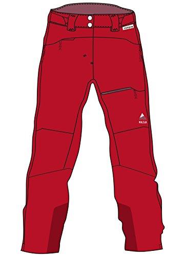 Maloja Barim Technische Hose, Damen M rot (red poppy)