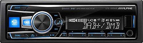 Alpine UTE-93DAB Autoradio, 200W, Bluetooth, UKW, LW, MW, UKW-Band: 87,5bis108MHz, Langwelle: 153–281kHz, LCD-Anzeige. Alpine Interface