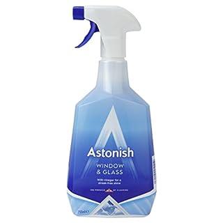 Astonish Window Cleaner With Vinegar 750ml spray