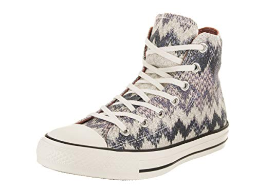 99b98ca948726a Converse Unisex Chuck Taylor All Star Missoni Hi Egret Multi Casual Shoe  5.5 Men US