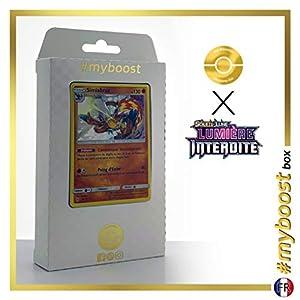 Simiabraz (Infernape) 59/131 Holo - #myboost X Soleil & Lune 6 Lumière Interdite - Box de 10 Cartas Pokémon Francés