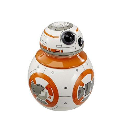 Star Wars Salz- und Pfefferstreuer: BB-8(Kopf abnehmbar), weiß, 2Stück